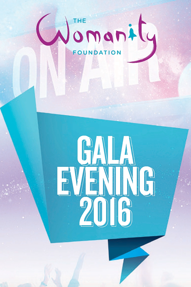 Logo Womanity Foundation Gala Evening