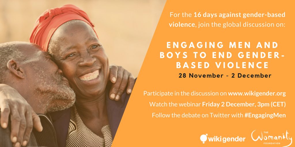 Engaging men and boys to fight violence against women