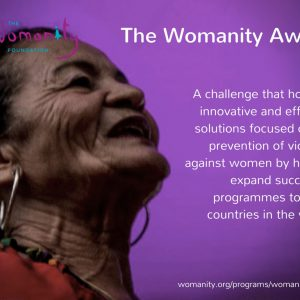 Call For Nominations Womanity Award 2018 - NEW DEADLINE