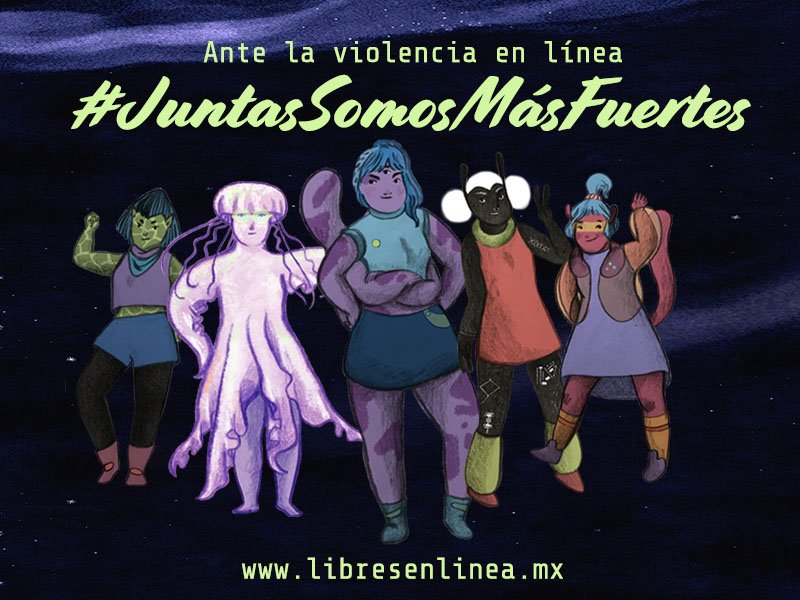 Luchadoras new campaign to tackle online violence